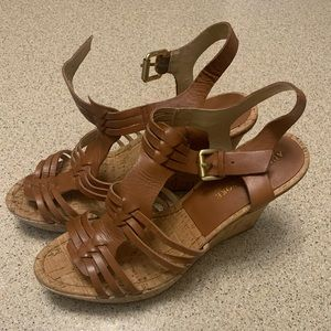 Audrey Brooke Wedge Sandals - new without tags